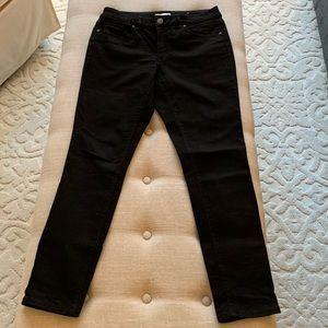 Loft Curvy Black Skinny Jeans